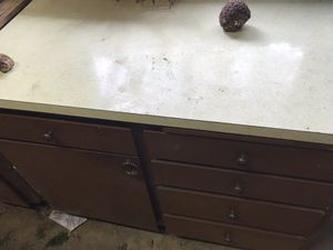 Old cabinets for workbench for Sale in Cosmopolis, WA