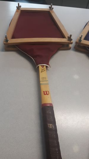 Pair of Original Jack Kramer wooden tennis rackets for Sale in Phoenix, AZ