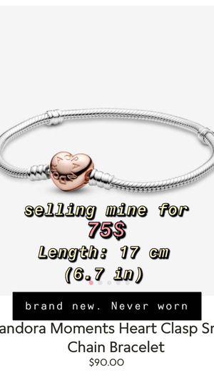 Pandora charm bracelet for Sale in Cicero, IL