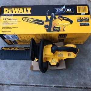 Dewalt 20v 12 Inch Brushless Chainsaw for Sale in Goodyear, AZ
