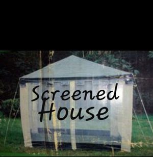 reduced-$89. Screened House / Mosquito Net Tent for Sale in HUNTINGTN BCH, CA