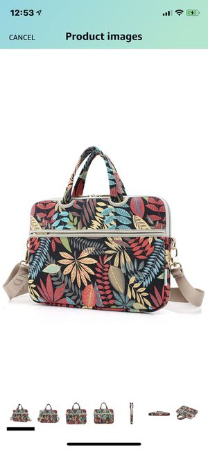 15-15.6 inch Floral Laptop Messenger Bag for Sale in Las Vegas, NV