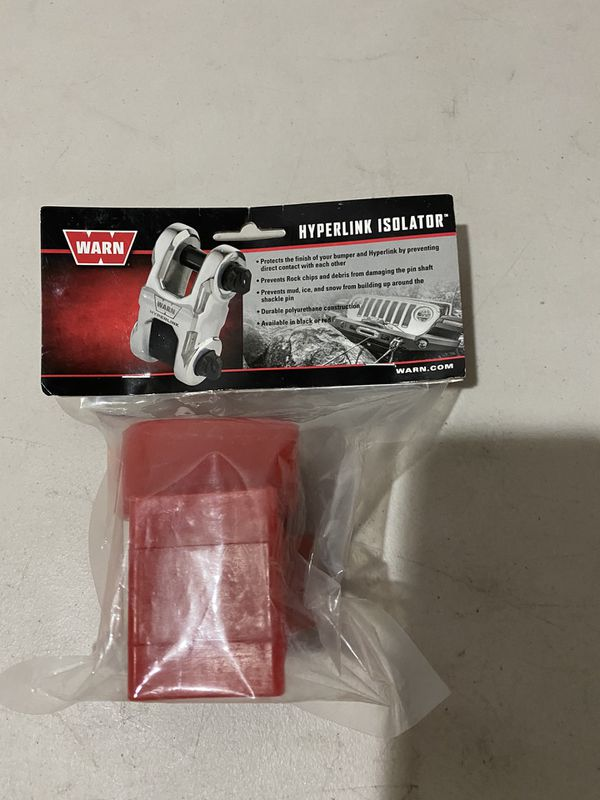 Warn Epic Hyperlink Winch Cable Shackle Isolators (182) - Part # 102045