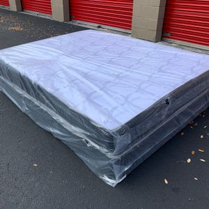 New Full Size Mattress and Box Spring Set - 2PC for Sale in Margate, FL
