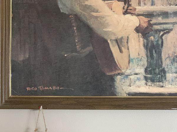 Gorgeous portrait w Frame