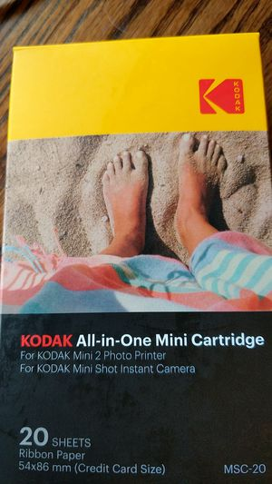 Kodak mini printer papers for Sale in Star Valley, AZ