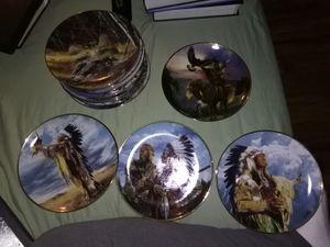 Native American collectors plates for Sale in Nokesville, VA