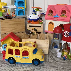 Large Collection Of Little People Play Houses And Accessories for Sale in Costa Mesa, CA