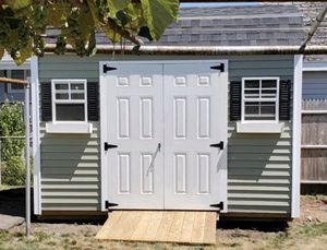 New 8' x 12' Green Vinyl Gambrel Shed for Sale in Rehoboth, MA