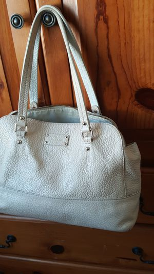 Beige real leather Kate Spade bag for Sale in Gardena, CA