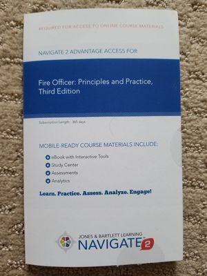 FIRE OFFICER PAMPHLET WITH UNSED CODE FOR SALE!!! for Sale in Roseville, CA