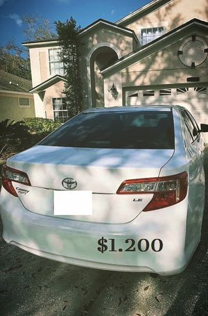 $1.200 I Selling 2013 toyota camry,nd Drives great.Nice Family car! one owner! for Sale in Sacramento, CA