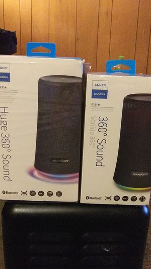 Flare t Huge Anker Soundcore360 Bluetooth and the Flare 360. for Sale in El Dorado, AR