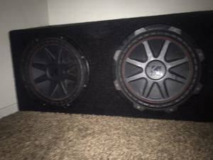 2 12s kickers for Sale in Perris, CA