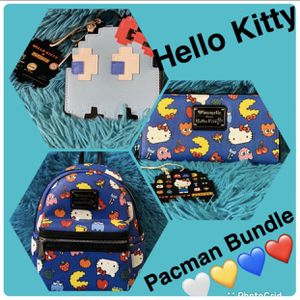 Loungefly Hello Kitty Pacman (RARE Find) for Sale in Douglasville, GA