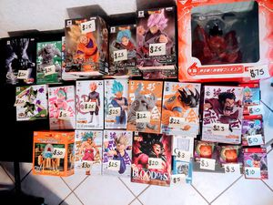 Dragon Ball Z / GT Anime Figures for Sale in San Diego, CA