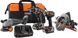 Ridgid Limited Edition Power Tool Combo Kit for Sale in Glendale, AZ