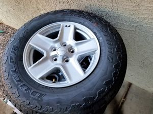BRAND NEW - BRIDGESTONE 245/75/R17 | JEEP Wheels & Tires! for Sale in Surprise, AZ