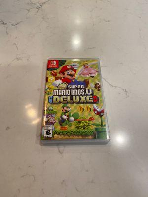 New Super Mario Bros U Deluxe for Sale in Bonney Lake, WA