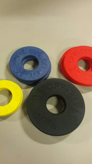 New CFF 5lb fractional plate set for Sale in Tempe, AZ