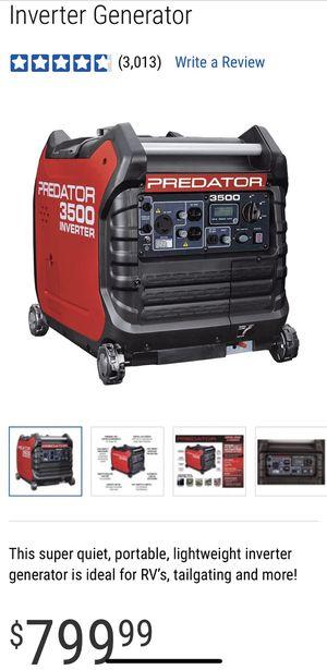 NEW INVERTER GENERATOR 3500 Predator for Sale in Bonita, CA