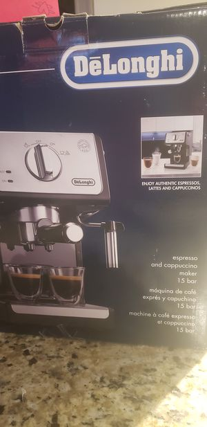 Coffee Maker De'Longhi Espresso/Cappuccino Special offer today! for Sale in West Palm Beach, FL