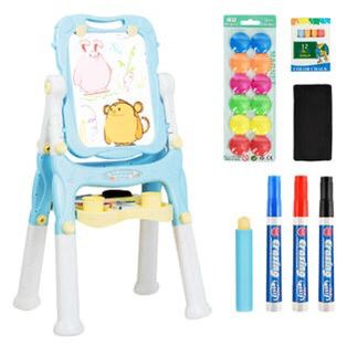 Kids Table & 2 Chairs Set Toddler Activity Play Dining Study Desk