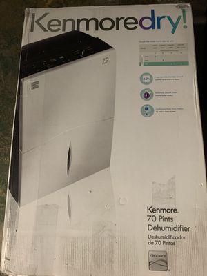 Kenmore 70 Pints Dehumidifier 1 - Slightly used - Kenmore 70 Pints Dehumidifier for Sale in Orlando, FL