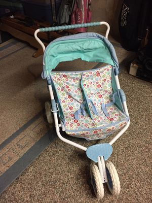 American Girl Bitty Baby Double Twin stroller for Sale in Oswego, IL
