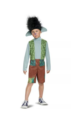 Trolls Branch Classic Boys Costume X small 3T-4T, j ONLY jumpsuit for Sale in Mission Viejo, CA