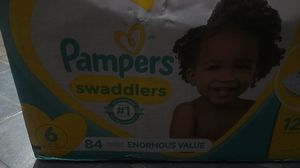 Pampers swaddlers size 6 84 count for Sale in Corona, CA