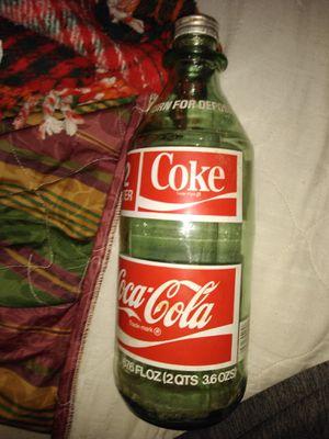 Vintage 2 liter Coca-Cola for Sale in Decatur, GA