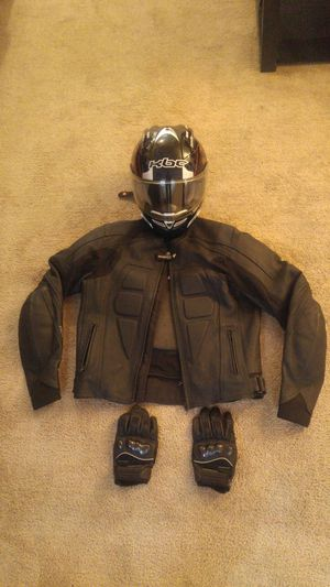 Motorcycle gear jacket helmet and gloves for Sale in Vallejo, CA
