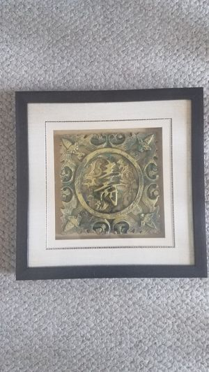 Framed Relief on glass for Sale in Miami, FL