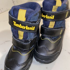 TIMBERLAND PolarCave Toddler Size 7 Boys 39840 Navy Snow Mud Rain Shoes Boots for Sale in San Antonio, TX