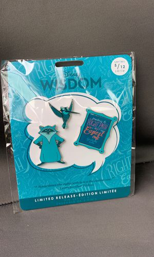 Disney wisdom pin series 5/12 limited edition for Sale in Rancho Cucamonga, CA