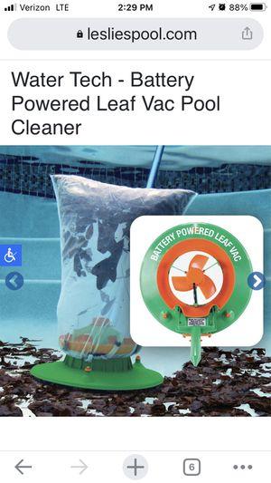Pool leaf vacuum for Sale in Spartanburg, SC