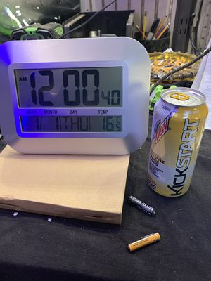 Stand up or hang up clock with alarm for Sale in Riverside, CA