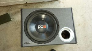 "Power bass subwoofer 12"" for Sale in San Bernardino, CA"