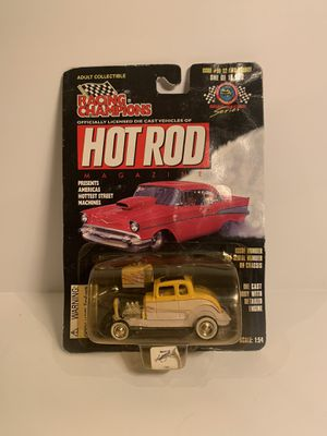 Racing Champions Hot Rod '32 Ford Highboy Die Cast Streetcar 1/54 Scale for Sale in Fresno, CA