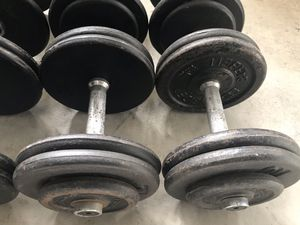 46 lbs Pro Style Dumbbells for Sale in Rancho Cucamonga, CA