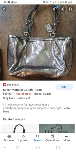 Coach purse and matching wallet for Sale in Palm Bay, FL