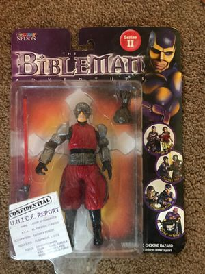 BibleMan action figure series II: Luxor Spawndroth for Sale in Portland, OR
