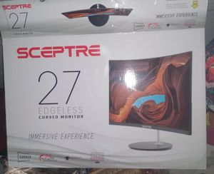 Sceptre Curved Computer Monitor for Sale in Ringgold, GA