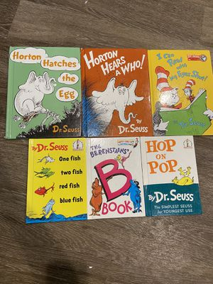 Dr. Seuss books for Sale in Arlington, VA