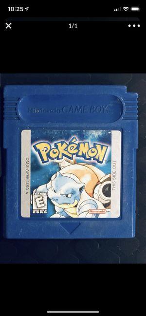 Nintendo Gameboy Pokémon blue for Sale in Glendora, CA