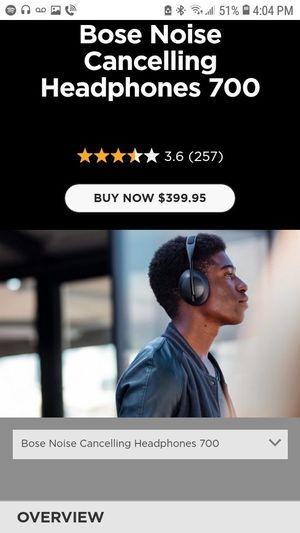 Bose 700 bluetooth headphones for Sale in Saint Paul, MN