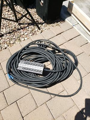 ProCo Stagemaster pro audio snake 16/4 for Sale in Phoenix, AZ