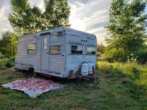 Solid 1968 Vintage rainbow camper for sale for Sale in Saint Clair, MI