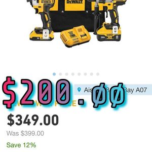 Dewalt 20volt MAX-XR Combo Kit W/ Power Detect for Sale in Vancouver, WA
